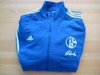 adidas Schalke Stan Libuda Gr. XL Jacke Sportjacke Sweatjacke TOP Größe XL Umbro