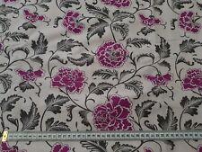 Floral Vine Design Fabric Half Metre 120cm Wide 100% Cotton