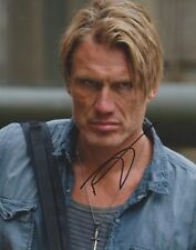 Dolph Lundgren Signed The Expendables 10x8 Photo AFTAL