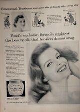 Lot of 3 Vintage Pond's Dry Skin Cream Ads
