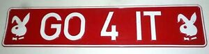 GO 4 IT NUMBER PLATE WALL BAR SOUVENIR POOL ROOM DECORATIVE ONLY 1