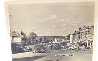Vintage Australia photo ,Cooma sharp street 1950s.