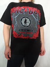 AC/DC Black Ice Tour 2008 100% Short Sleeve Cotton Tee Size Men's M Juniors XL