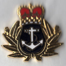 Lapel Badge. Royal Naval Crown & Anchor