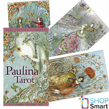 PAULINA TAROT DECK PLAYINGS CARDS ORACLE ESOTERIC TELLING US GAMES SYSTEMS NEW