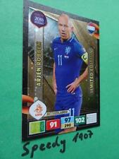 Panini Road To RUSSIA 2018 Fifa World Cup Limited Edition Robben Adrenalyn