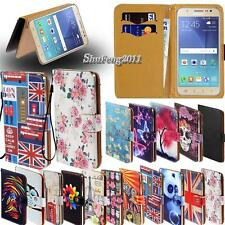 For Various Samsung Galaxy Models New Leather Stand Flip Wallet Cover Phone Case