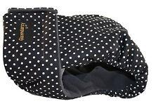 Glenndarcy Female Dog Season Nappy Diaper I Urine Incontinence I Dotty Black
