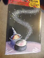 8 Halloween Invitations - LOOK WHAT'S BREWING - by American Greetings