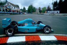 Ivan Capelli. March 871. F1 GP Belgium, 1987. Vintage 35mm F1 slide. S283