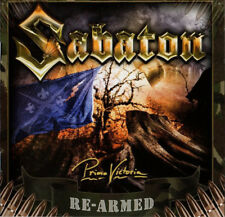 SABATON Primo Victoria Re-Armed NEW CD +6 Bonus Tracks Power Metal