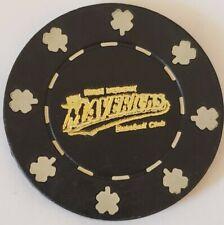 Vintage HIGH DESERT MAVERICKS BASEBALL CLUB Souvenir Advertising Poker Chip Coin