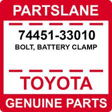 74451-33010 Toyota OEM Genuine BOLT, BATTERY CLAMP