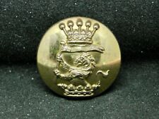 New listing 2nd Earl Cowley, William Wellesley 25mm Gilt Livery Button Firmin Pat. 2346 1884