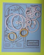 1977 Bally Lost World pinball rubber ring kit
