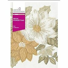 Anita Goodesign REGAL POINSETTIAS Embroidery Machine Designs CD