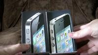 Apple iPhone 4-16gb black or white mix  (unlocked) smartphone BOX UP