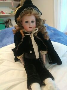 """Antique 18"""" Doll Armand Marseille Bisque Kid Body Germany"""