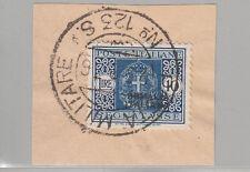 SOMALIA 1934 SEGNATASSE  L. 10 Varieta' SOVRASTAMPA A DESTRA SU FRAMMENTO RARA