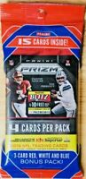 2019 PRIZM FOOTBALL CELLO FAT PACK Red White Blue Prizms Murray Lock Jones?