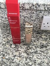 CLARINS 107 Beige Extra Firming Foundation SPF 15 Liquid Anti Age Discontinued