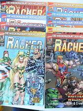 9  x Comic -Die Rächer - Band 1,2,4,7,8,9,11,12,13 - Marvel