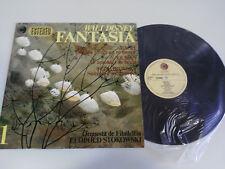 "FANTASIA 1 WALT DISNEY SOUNDTRACK LP VINYL VINILO 12"" VG+/VG+ DISNEYLAND 1967"