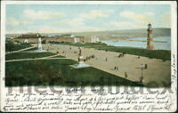 PLYMOUTH Hoe Promenade Postcard DEVON The Pictorial Stationary Co. Ltd