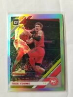 2019-20 Donruss Optic Trae Young #2 Silver Holo Prizm 2nd Year Atlanta Hawks