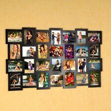 28 Fotos Bilderrahmen Fotorahmen Bildergalerie Rahmen Collage schwarz 10x15