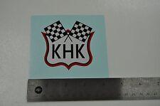 New 1954-1956 Harley KHK Sportster Oil Tank Decal 62535-54 Water Slide