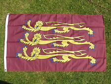 THREE LIONS Richard the Lionheart English Crusader Flag England medieval Royalty