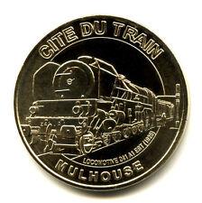 68 MULHOUSE Cité du train, Locomotive 241-A1, 2008, Monnaie de Paris