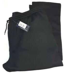 "Large Mens Black Jogging Bottoms 2xl-3XL 4XL 5XL Perfect Fashions.hemd 29""31""leg"