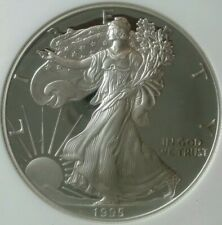 1995 P Proof $1 American Silver Eagle Dollar NGC PF69 Ultra Cameo