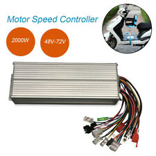 Speed Controller Brushless Replace E-bike Scooter Electric Bicycle 48-72V 2000W