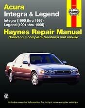 Acura Integra 90-93 Legend 91-95 Haynes Repair Manual NEW Owners Book Service
