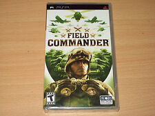 Field Commander (Sony PSP UMD, 2006) Brand New & Sealed