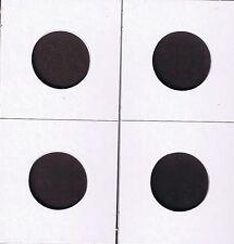 "50 -1 1/2""x1 1/2"" Cardboard MYLAR Various Coin Protector Holder Flips Asst Sizes"
