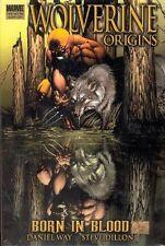 WOLVERINE ORIGINS:BORN IN BLOOD HARDCOVER ORIGINAL NOV 2006 EDITION NEW SEALED
