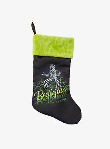 Beetlejuice Showtime Christmas Stocking