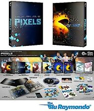 Pixels Blu ray Steelbook FilmArena FAC #26 3D 2D Film arena Steelbook NEW SEALED