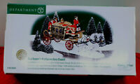 Department 56 Dickens Village The Queen's Parliamentary Coach 58454 Retired