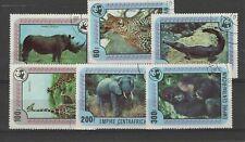 CENTRAL AFRICAN REPUBLIC 1978 WORLD WILDLIFE FUND