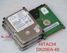 """40GB 2,5"""" 6,35cm IDE PATA HDD DISCO DURO HITACHI dk23ea-40 Defectuoso # K"""