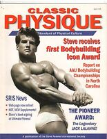 Steve Reeves Classic Physique Bodybuilding Magazine 1998 Rare OOP