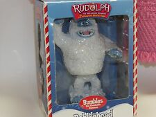 Bumbles The Abominable Snowman Bobblehead, Rudolph The Red-Nosed Reindeer Figure