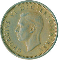 1950 SIXPENCE - KING GEORGE VI.  GREAT BRITAIN COIN COLLECTIBLE    #WT10339
