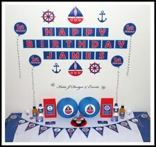Nautical Party Hanging Decorations