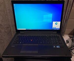HP ELITEBOOK 8770W LAPTOP 17inch CORE i7-3720QM 32GB RAM 500GB DVDRW NVIDIA 2GB